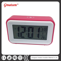 Hot Sale Led Digital Alarm Clock With Multifunctional Display