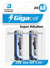 Hot Sales ! Cheap price! Super Alkaline LR6 size AA battery