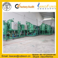 High precision breakdown voltage improving vacuum used transformer oil filtration unit