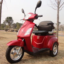 3 wheels electric powered 150cc diesel engine scooter for old people