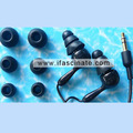 Promotion waterproof in ear earphone,waterproof to 3m&3H