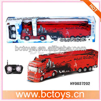 1:32 scale model 6ch rc tractor trailer trucks for sale cheap price light voice HY0037202