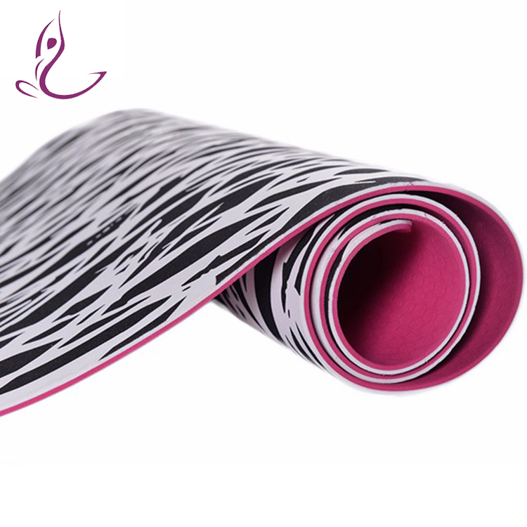 Alibaba China Popular Tpe Yoga Mat Organic Fitness Mat Cheapest Tpe Yoga Mat