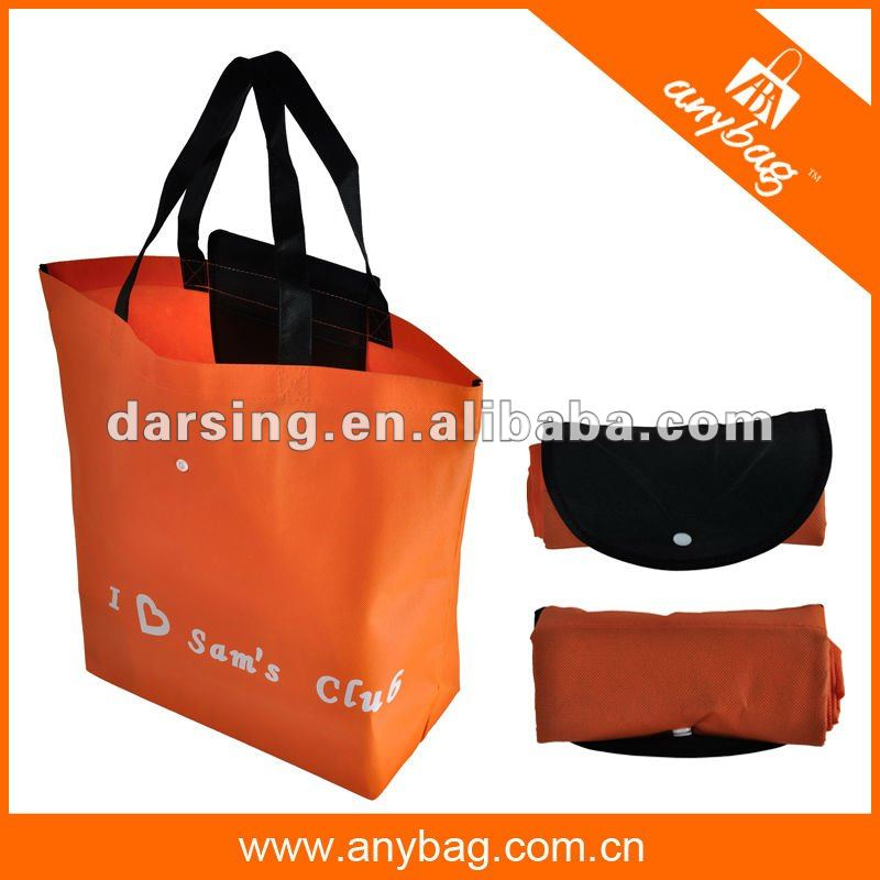 FASHIONABLE 2014 non woven foldable shopping bag
