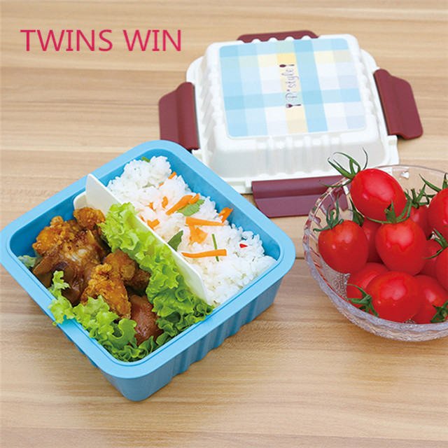 hot sale new products private label custom wholesale cute kids children school use square shaped bpa free pp lunch boxes 057