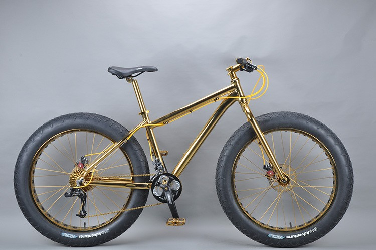 Luxurious 18K 26 inch fat bike 28 inch bmx bike