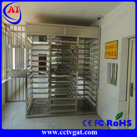 reliable security protection safety prison full height turnstile industrial turnstiles