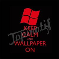 Wholesale Tshirt Vinyl Keep Calm And Wallpaper On For Clothing