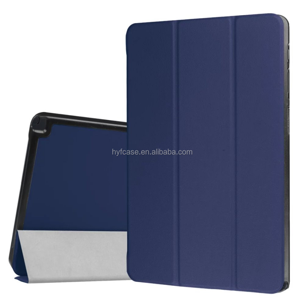 Accept customized leather stand smart cover case for Samsung Galaxy Tab A 10.1 P580/P585 Tablet