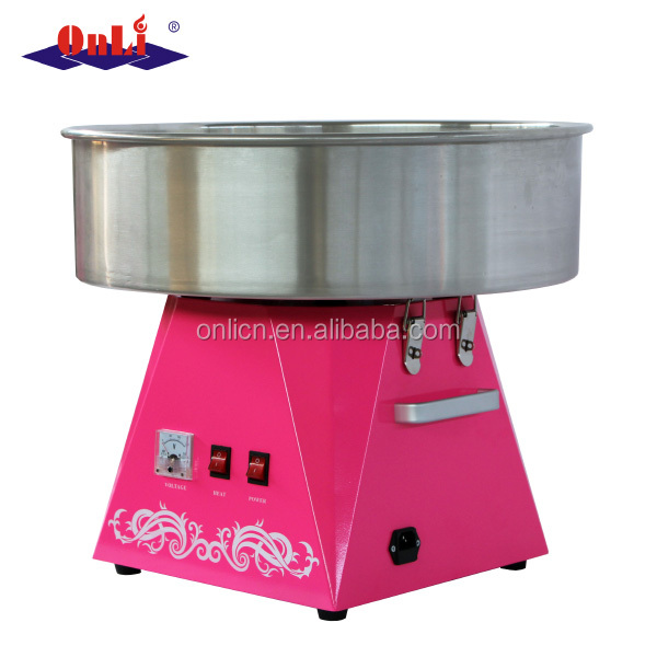A different NEW professional commercial electric automatic flower cotton candy machine for sale price