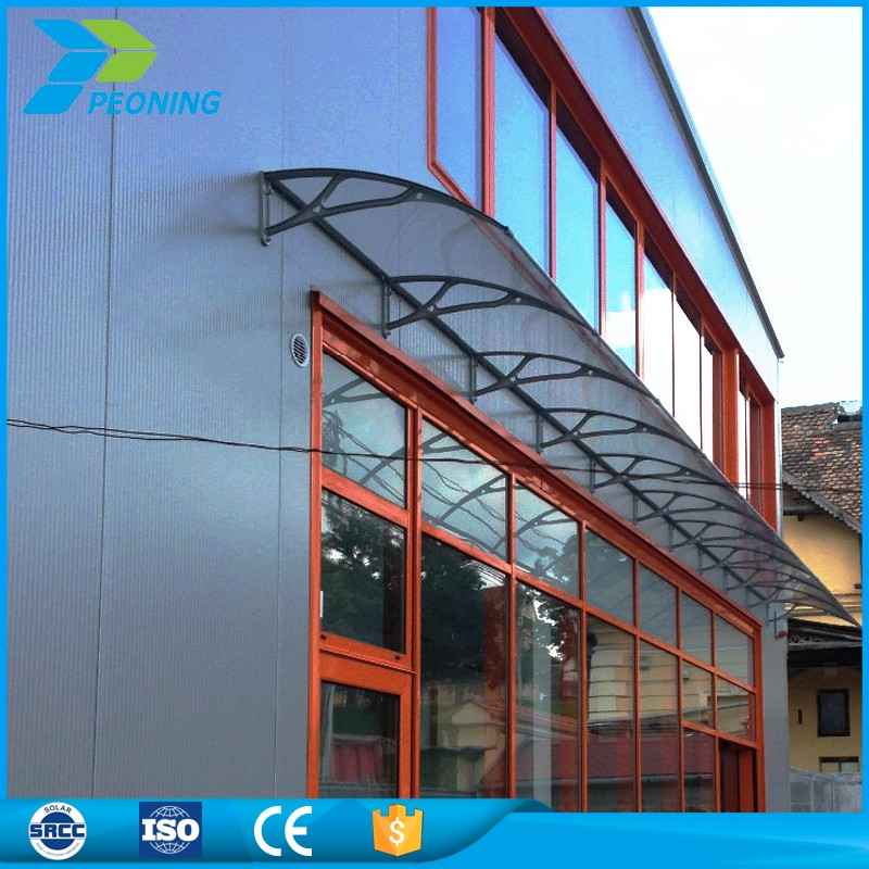new collection entry door solid polycarbonate panels awning