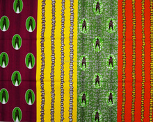 Best selling products wax with lovely birds pattern 100% cotton colorful holland wax african fabrics for african market