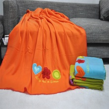 new trendy swaddle receiving muslim baby blanket wool baby towel