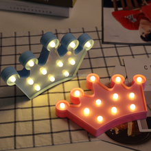 Girls/Kids night Room Accesories Princess LED Light Up Crown for Birthday gift Party Favor