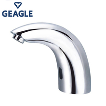 Fully automatic copper bathroom basin faucet intelligent touchless infrared sensor