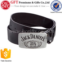 OEM Customized Silver buckle Best Quality Leather Belt Buckles
