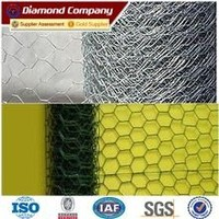 Metal Wire Mesh Fence Heavy Rabbit Cage Hexagonal Wire Netting