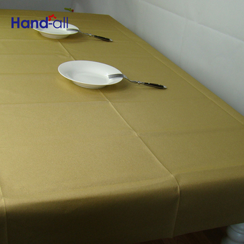 Banquet Fitted Air Laid Paper Table Cover And Tablecloth