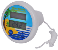 SH-179S digital swimming pool thermometer with solar