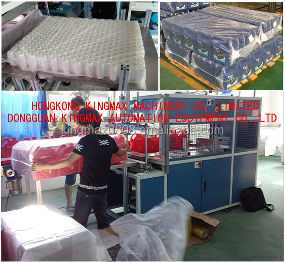 empty bottle bag packing machine