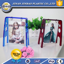 JINBAO beauty product baby picture hd full photo frame custom made rotating acrylic display