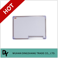 Magnetic plastic cheap price corrugated cardboard childs white board