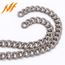 matte colored metal aluminum link chain manufacturer