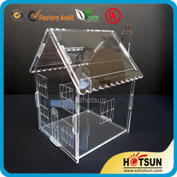 Easy Assembly Acrylic Dog House/ Acrylic Dog Cage/ Acrylic Pet House