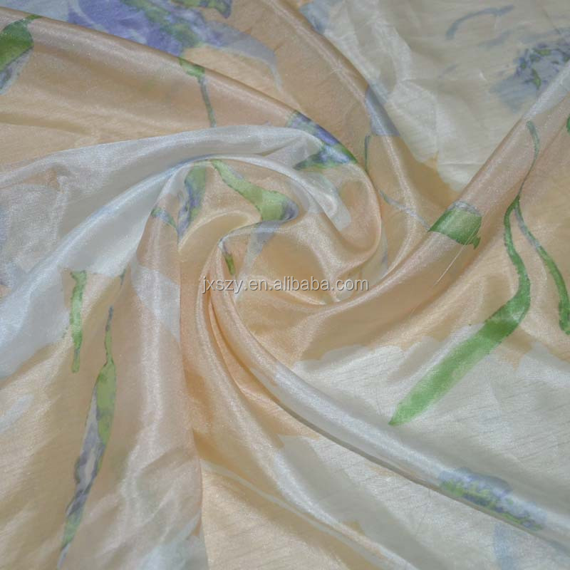 100%silk 4.5mm silk paj fabric