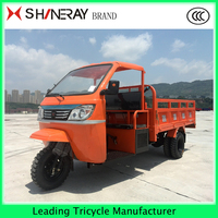 3 wheel motorcycle cargo tircycle with cabin made in china