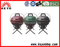 Hot saleweber style portable outdoor charcoal kettle BBQ grill with strong package