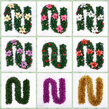 Hot sell Christmas tree decoration wholesale christmas wreath & Christmas garland