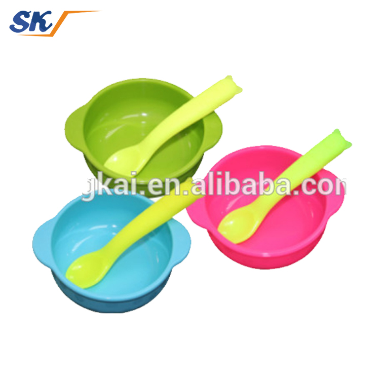 microwave oven safe silicone baby bowl with food grade