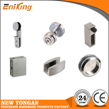 good selling stainless steel sliding shower glass door accessories
