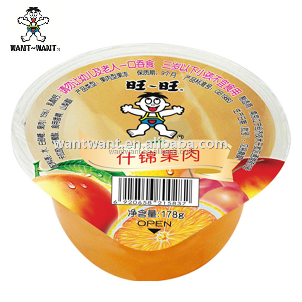 Want Want Mixed Fruit Jelly