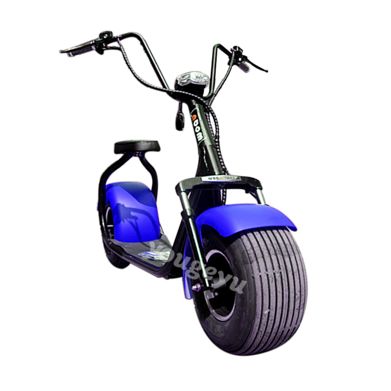 2016 hot blue halley electric scooter 1000w60v12Ah electric trike bike electric bicycle germany