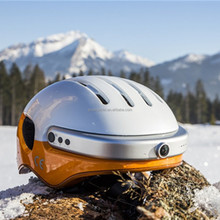 Stylish smart electric bike helmet Airwheel C5 helmet with built in camera