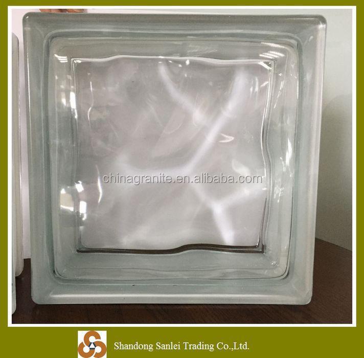 Barato al por mayor natural decorativo bloques de vidrio - Bloque de vidrio precio ...