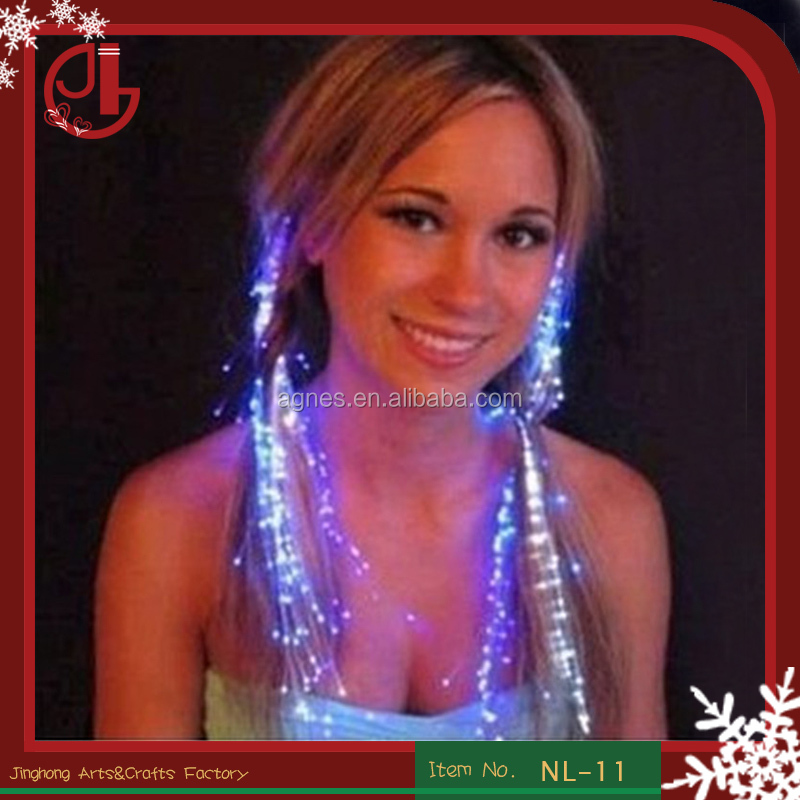 2016 Big Sale Party/christmas/wedding Decoration Led Hair Braids
