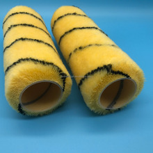 "7""high quality tiger strip industrial roller brush cover"