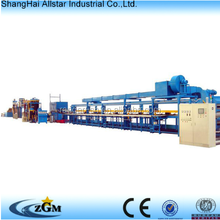 continuous pu production line to make sandwich panel/ pu foam machine/ polyurethane panel continous production line