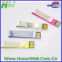 Computer accessories clip shape flash drive usb customized logo