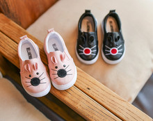 kids 2017 black school shoes for children fashion boys cat