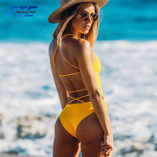 2018 Customized Tied Bikini One pieces Swimwear