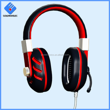 Hot selling 3.5mm connector 40mm speaker hifi deep Bass wired gaming handband computer headphone