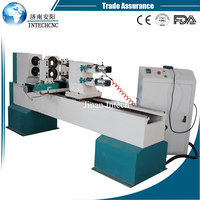 Hot sale double axis single/double cutter woodworking lathe