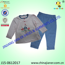 Wholesale Prices Girl Clothes Set With Beautiful Artwork