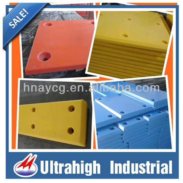 2013 UHMWPE plastic thick solid Pier scour board