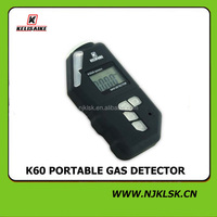 new product 3V lithium battery operated diy home alarm portable CO and lpg gas detectors