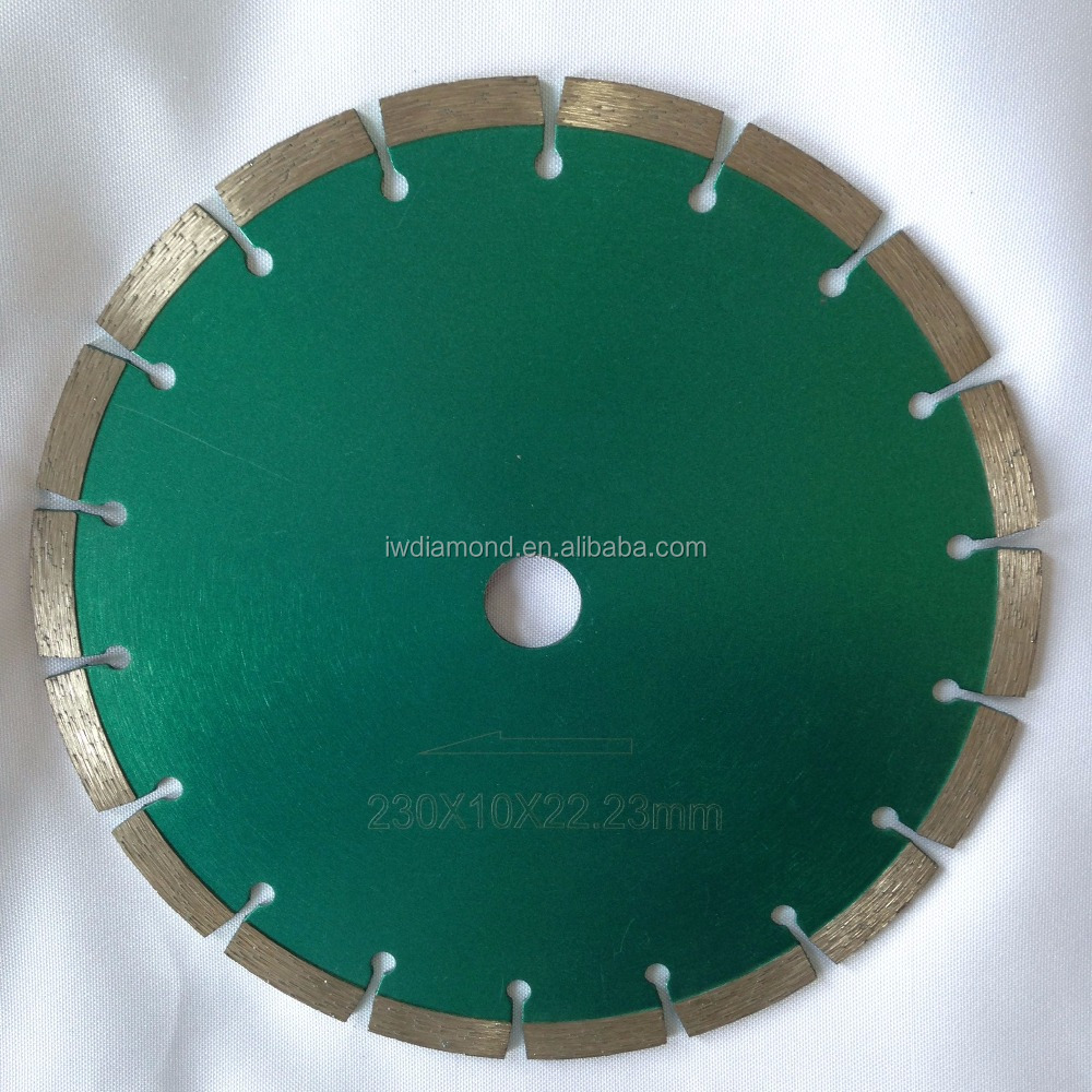 9 inch 115mm 125mm 230mm 450mm 700mm circle sintered hot pressed small segment dry circular diamond saw blade cutting disc